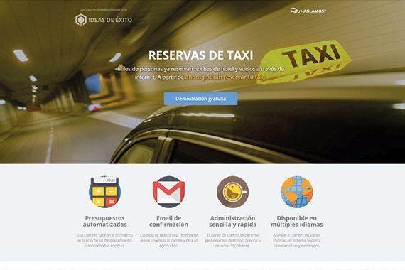 Reservas de taxi