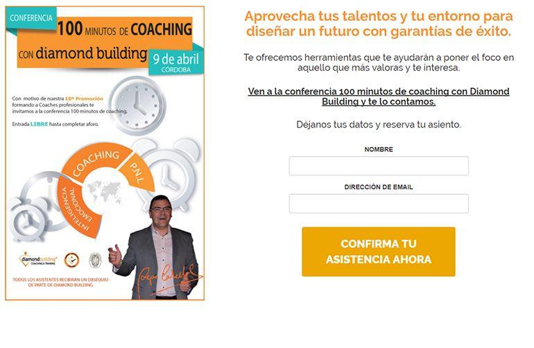 Campaña 100 minutos de coaching
