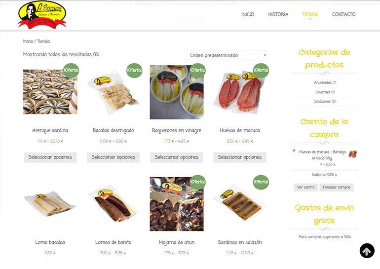 Tienda online La Pescaera