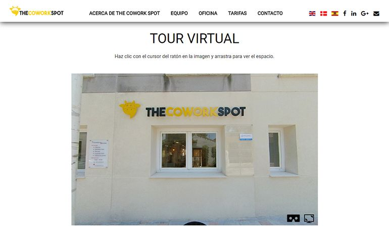 Visita virtual The Cowork Spot