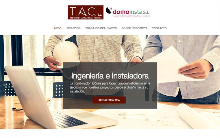 Web TAC Domótica
